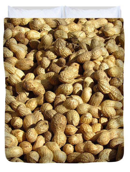 Pile Of Peanuts Duvet Cover