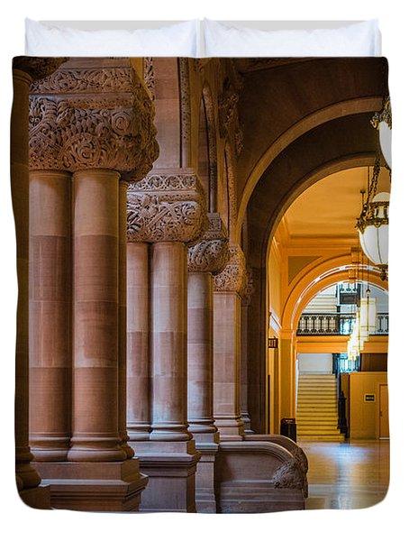 Pillar Hallway Duvet Cover