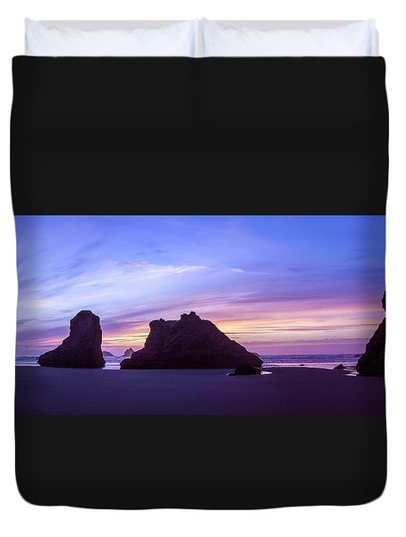 Pillars Of Bandon Duvet Cover