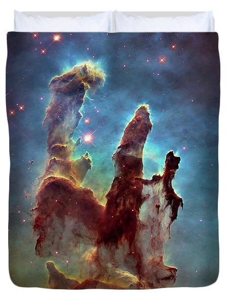 Pillars Of Creation Duvet Cover