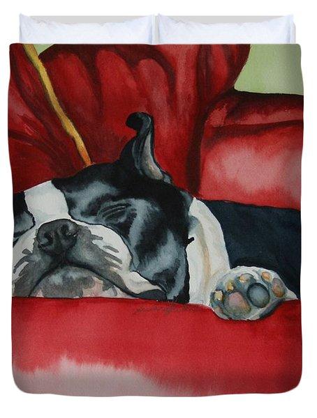 Pillow Pup Duvet Cover