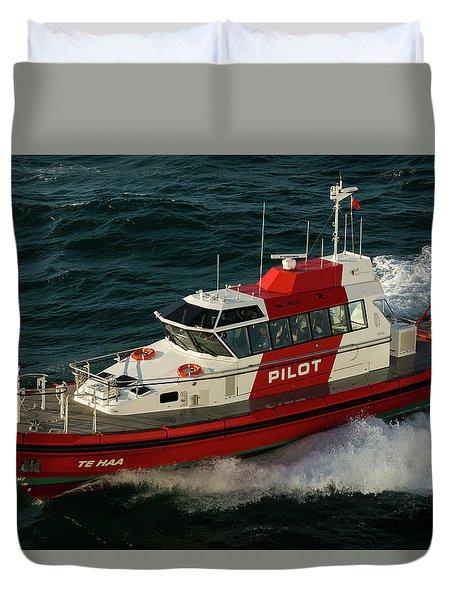 Pilot Boat Wellington Duvet Cover
