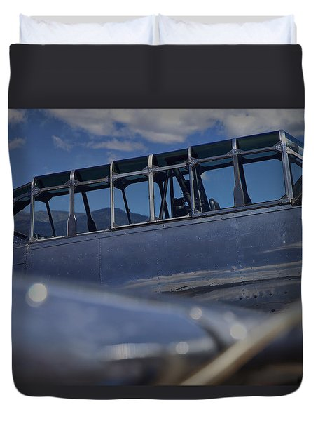Pilots Office Duvet Cover