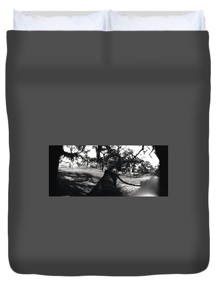 Pin Hole Camera Shot 1 Duvet Cover