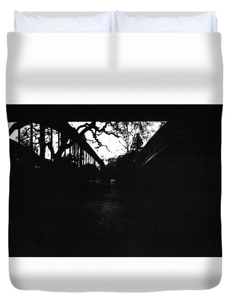 Pin Hole Camera Shot 2 Duvet Cover