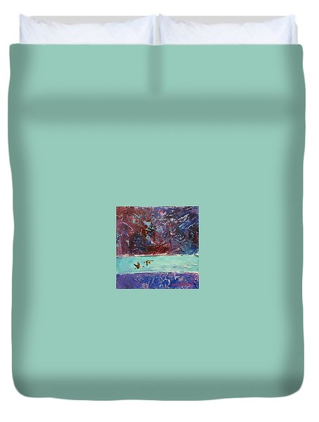 Pin Tails Duvet Cover by David  Maynard