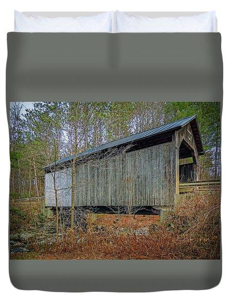 Pine Brook Bridge Duvet Cover