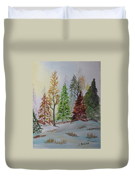 Pine Cove Duvet Cover