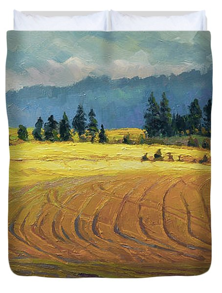 Pine Grove Duvet Cover