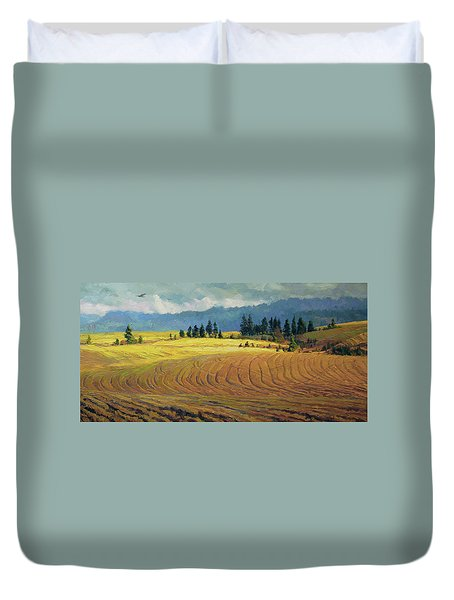 Pine Grove Duvet Cover