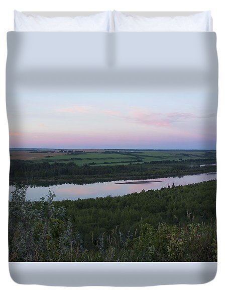 Pine Island Duvet Cover by Ellery Russell