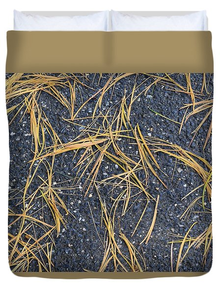 Pine Needles Duvet Cover