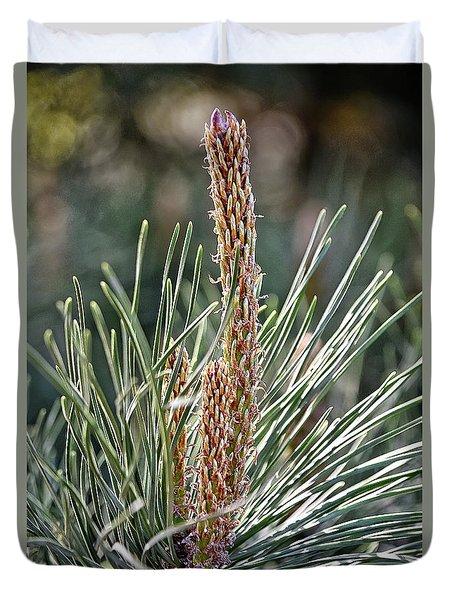 Pine Shoots Duvet Cover