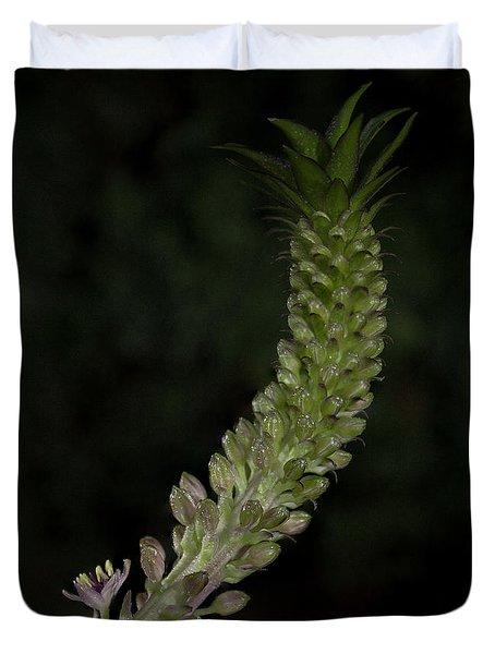 Pineapple Lily Duvet Cover
