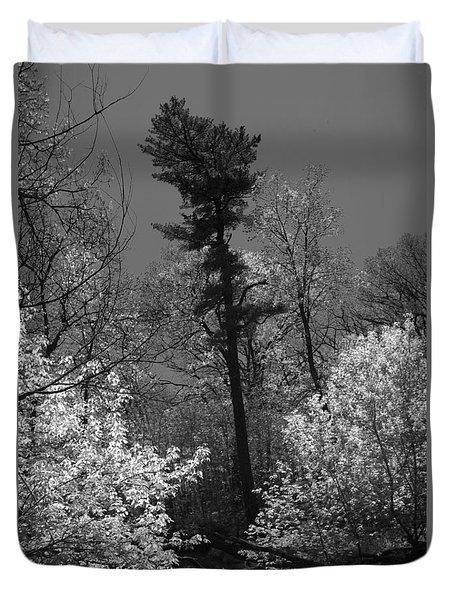 Pineing Away Duvet Cover