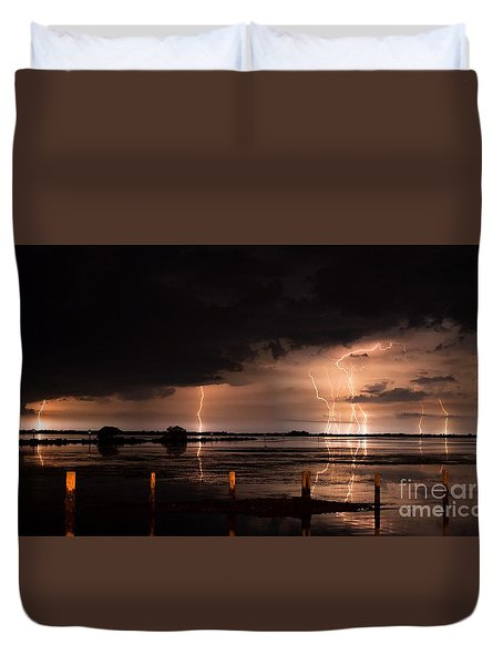 Pineland Nights Duvet Cover
