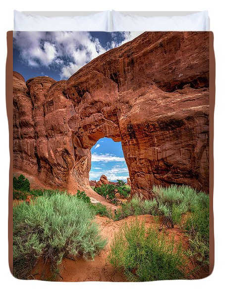 Pinetree Arch Duvet Cover
