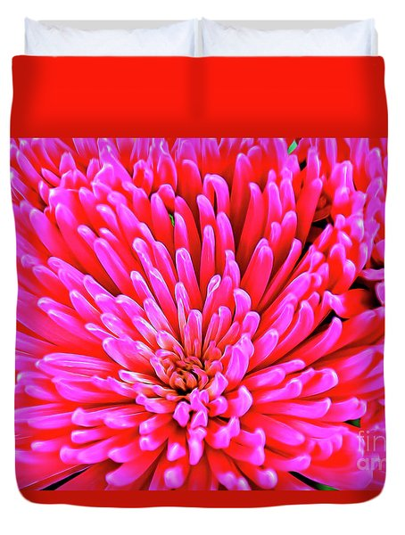 Pink 137 Duvet Cover