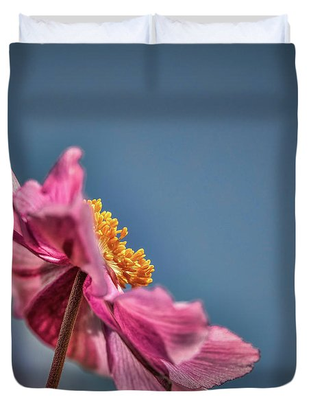 Pink And Yellow Profile #h8 Duvet Cover