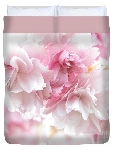 Pink April Duvet Cover by Kim Tran