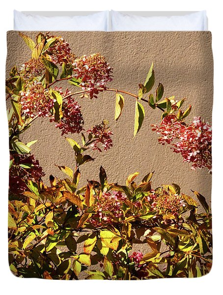 Pink Autumn Duvet Cover