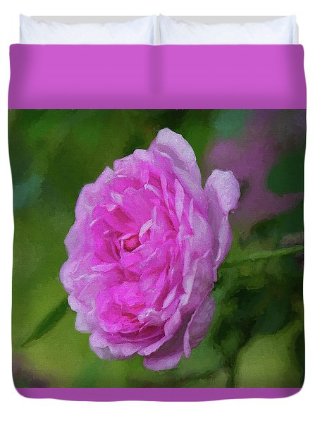 Pink Beauty In Bloom Duvet Cover
