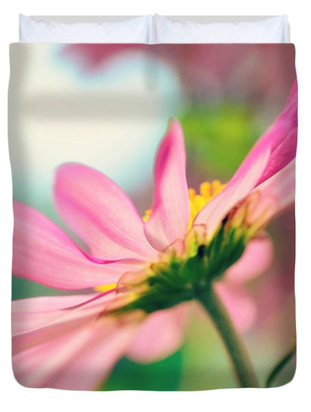 Pink Bliss Duvet Cover
