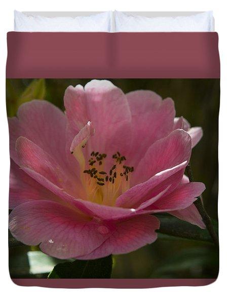 Pink Bloom Duvet Cover by Frank Wilson