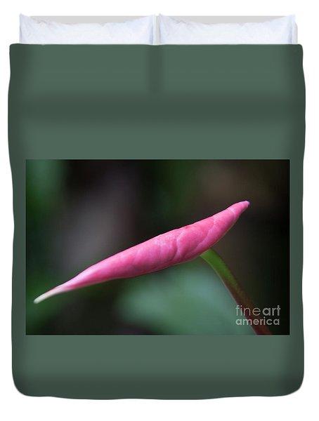 Pink Bud Duvet Cover