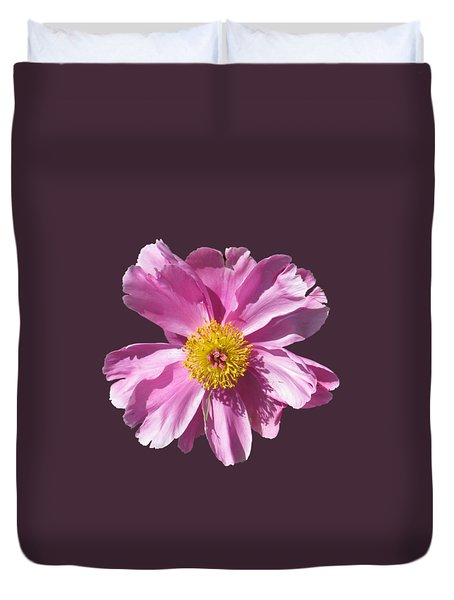Pink Burst Duvet Cover