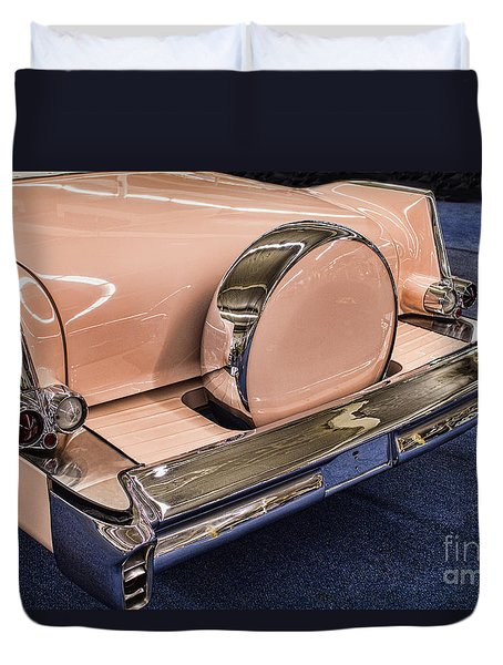 Pink Caddy Duvet Cover by Steven Parker