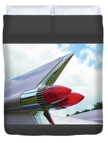Pink Cadillac Duvet Cover