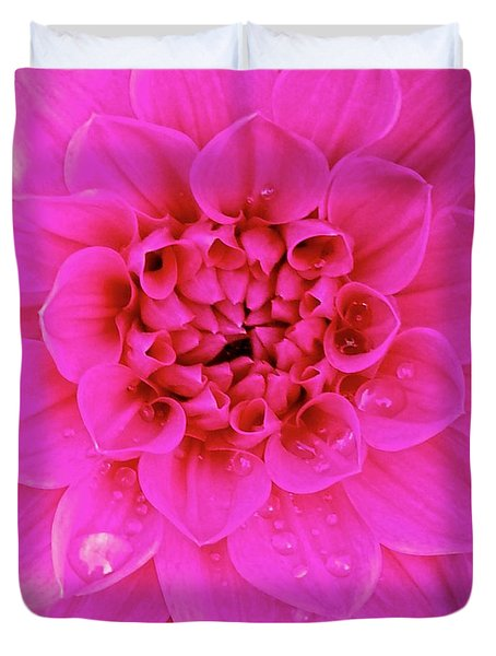 Pink Delight Duvet Cover