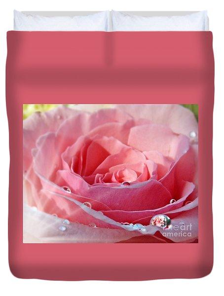 Pink Delight Duvet Cover