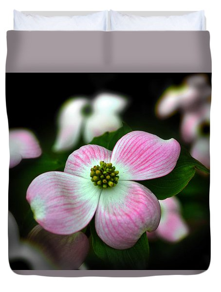 Pink Dogwood 003 Duvet Cover by George Bostian