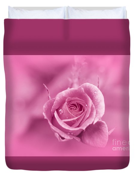 Pink Dream Duvet Cover by Charuhas Images