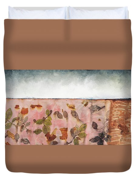 Pink Earth Duvet Cover