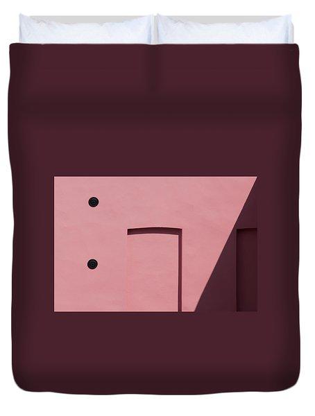 Pink Emoji Duvet Cover