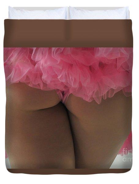 Pink Fanny Duvet Cover