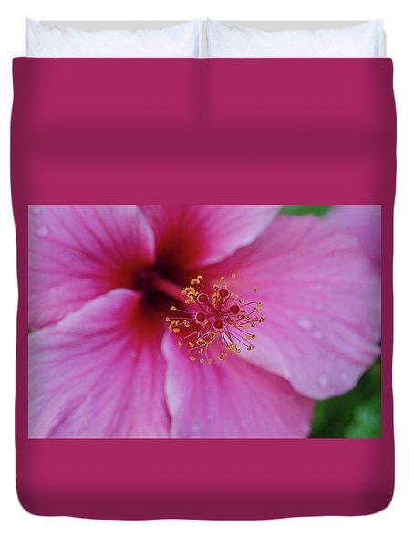 Pink Flower II Duvet Cover