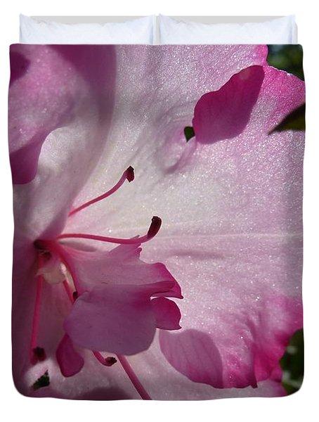 Pink Flowers 1 Duvet Cover