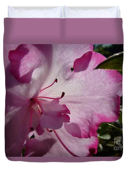 Pink Flowers 1 Duvet Cover