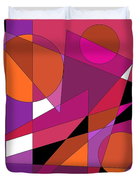 Pink Fusion Duvet Cover