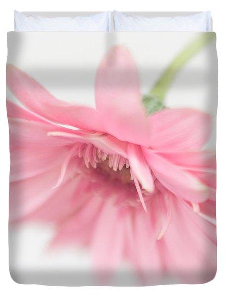 Pink Gerbera Daisy II Duvet Cover