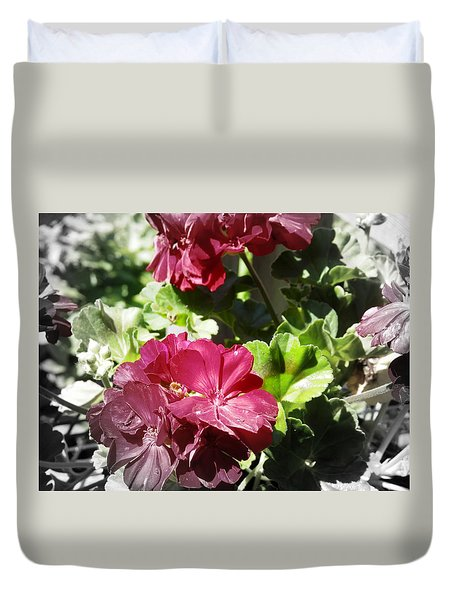 Pink Glory Duvet Cover