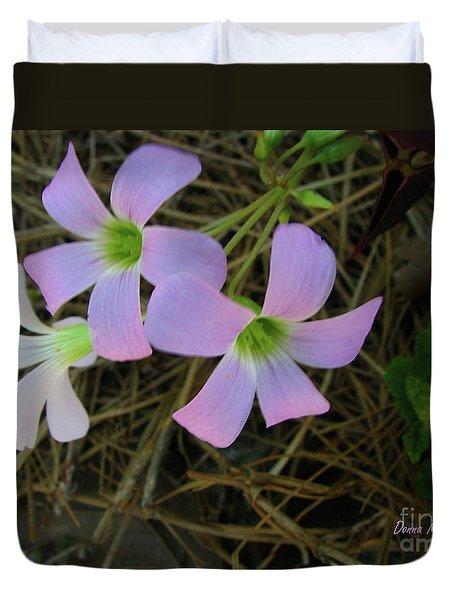 Pink Glow Duvet Cover