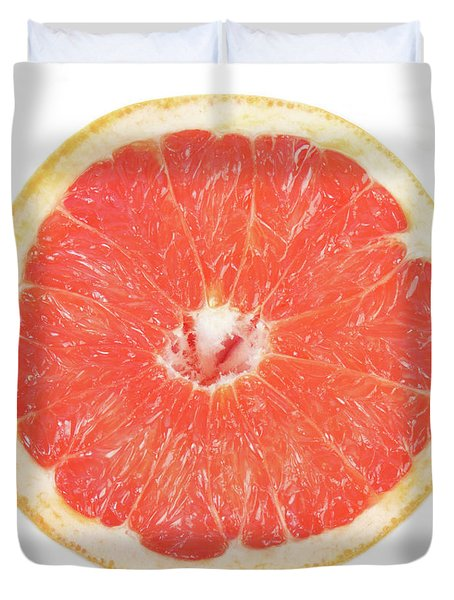 Pink Grapefruit Duvet Cover by James BO  Insogna