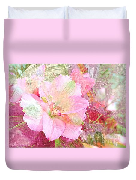 Pink Heaven Duvet Cover
