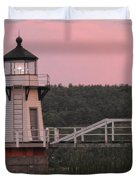 Pink In The Morning Duvet Cover