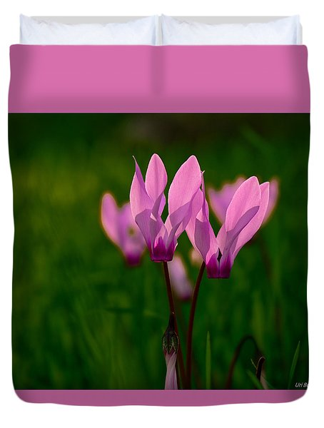 Pink Light Duvet Cover